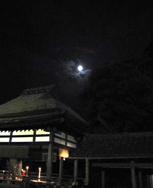 石山寺・秋月祭