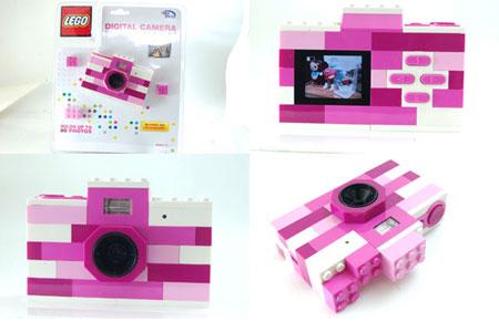 英太お気に入りの レゴ ( LEGO ) トイデジ ピンク