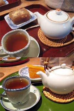 岩茶房のお茶