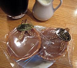 神戸スイーツ 菓子sパトリー 生キャラメルタルト
