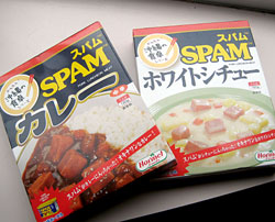 SPAM スパムカレー & スパムシチュー