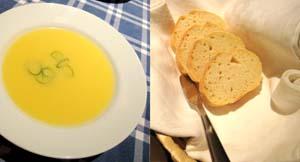 ポルトガリア・スープとパン