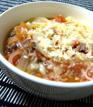 トマトのスープそうめん
