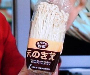 えのき氷ダイエット-はなまるマーケット