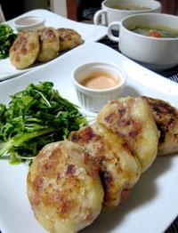 スパム のポテトステーキ 簡単レシピ